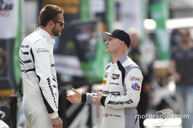 Cooper MacNeil, Riley Motorsports y Ben Keating, Riley Motorsports