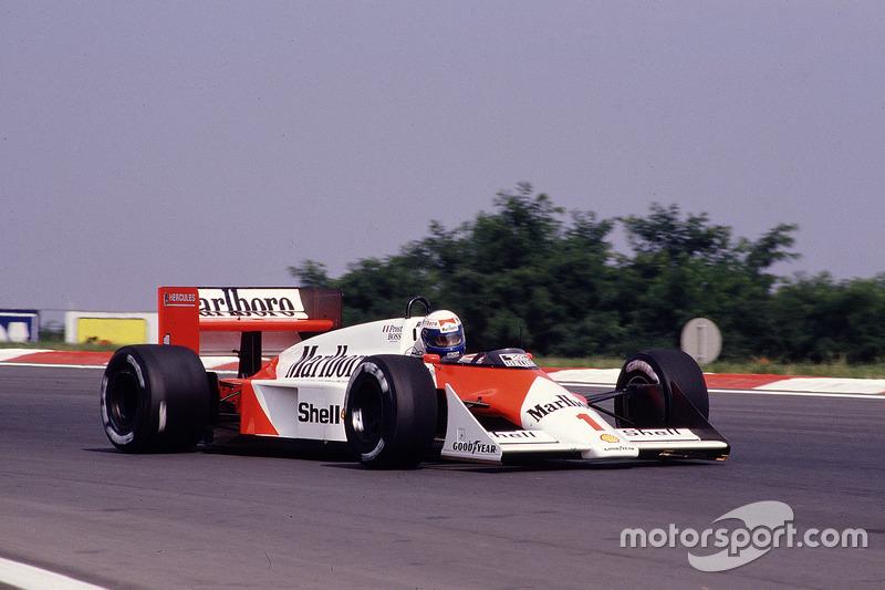 Alain Prost, McLaren MP4/3 TAG Porsche (1987)