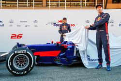 Carlos Sainz Jr., Toro Rosso y Daniil Kvyat, Toro Rosso