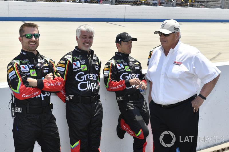 Kasey Kahne, Hendrick Motorsports, Chevrolet, mit Rick Hendrick