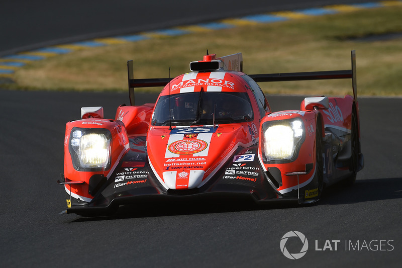№25 CEFC Manor TRS Racing Oreca 07 Gibson: Роберто Гонсалес, Симон Труммер, Виталий Петров