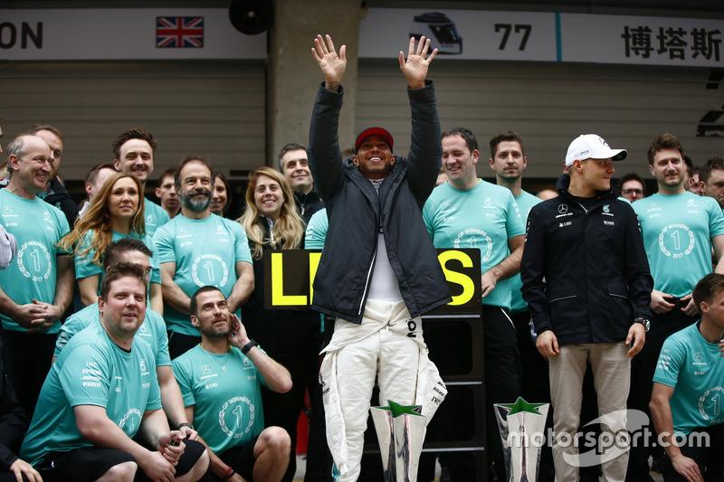 54º victoria de Lewis Hamilton
