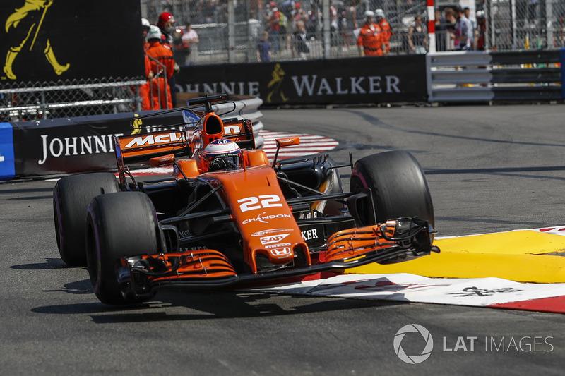 20: Дженсон Баттон, McLaren MCL32