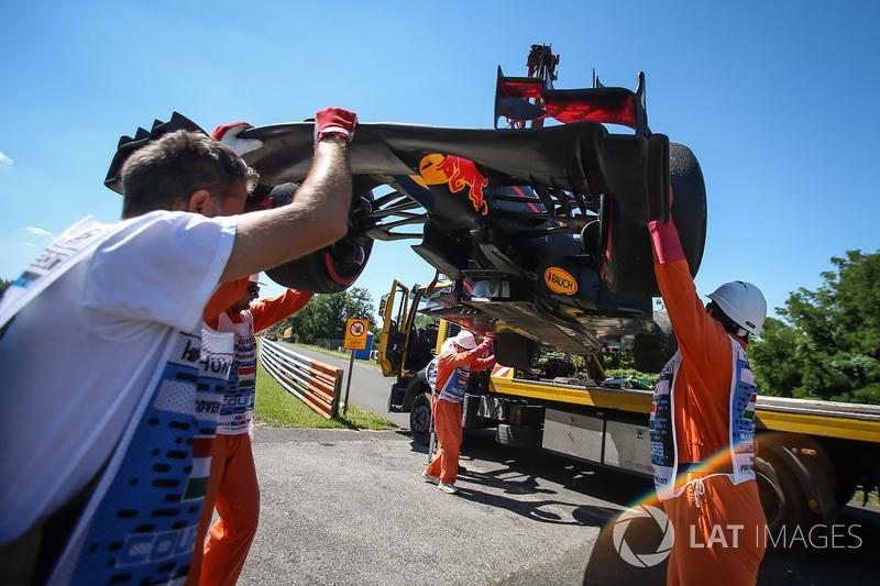 Auto von Daniel Ricciardo, Red Bull Racing RB13