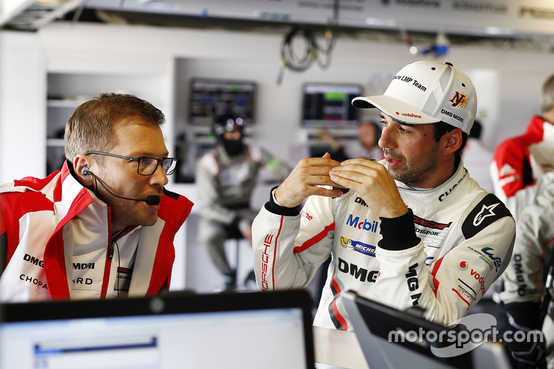 Andreas Seidl, Team chef Porsche LMP Team, Neel Jani, Porsche Team