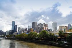 Вид на Мельбурн
