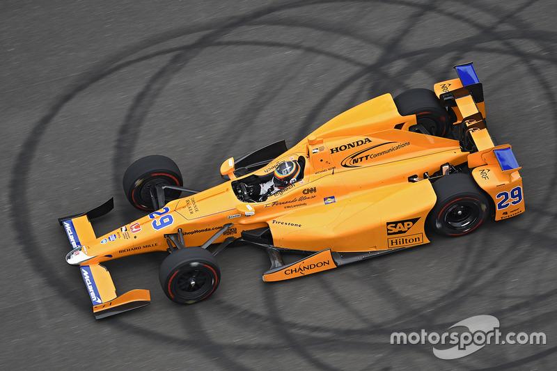#4: Fernando Alonso, Andretti Autosport, Honda