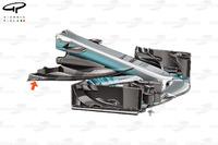 Mercedes W08, il nuovo muso per il GP dìAustria