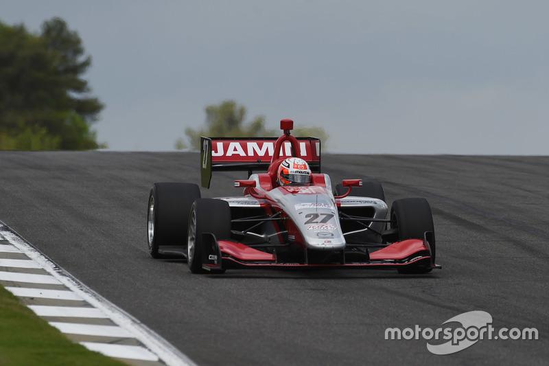 Nico Jamin S Indy Lights Race Car