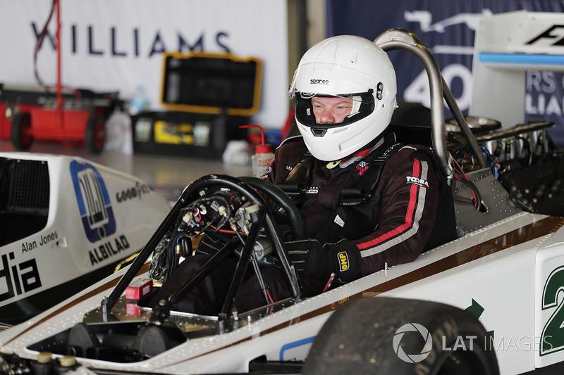 Демонстрація Williams FW06 1978 року