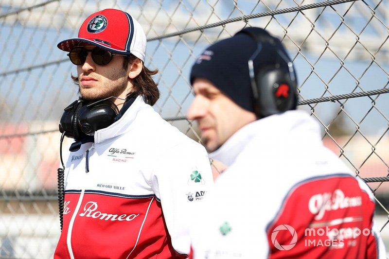 Antonio Giovinazzi, Alfa Romeo Racing, Simone Resta, Alfa Romeo Racing