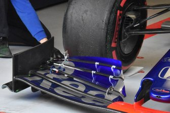 Toro Rosso : vue détaillée du nez