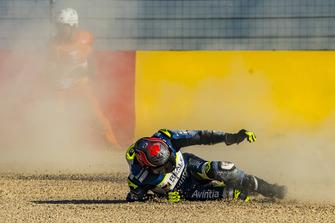 Chute de Jordi Torres, Avintia Racing