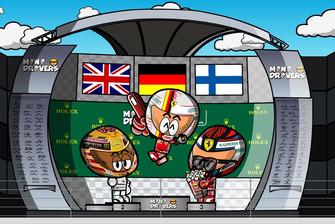El GP de Gran Bretaña de Fórmula 1 2018, por MiniDrivers