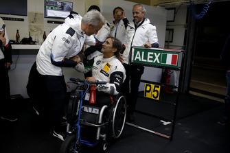 Alex Zanardi, BMW Team RMR con Jens Marquardt, BMW Motorsport Director