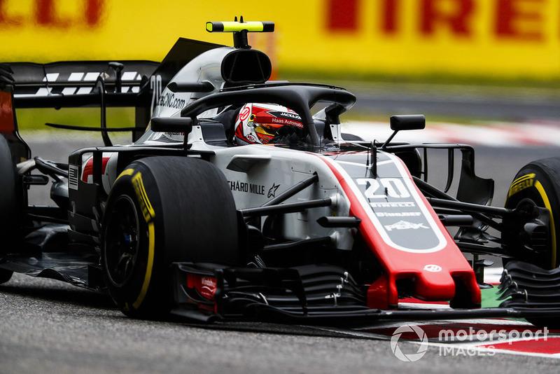 12. Kevin Magnussen, Haas F1 Team VF-18