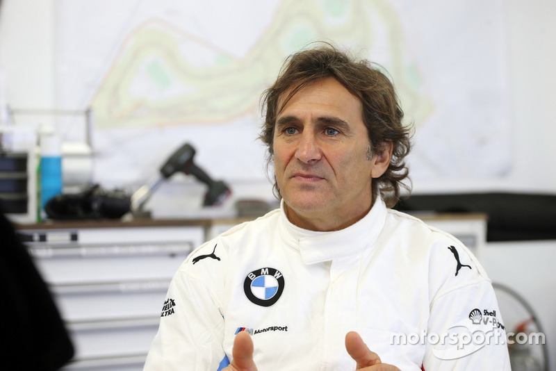 Alex Zanardi beim IMSA-Test in Daytona