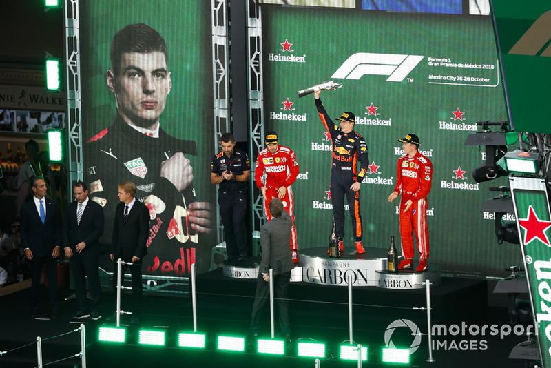 Себастьян Феттель, Ferrari,Макс Ферстаппен, Red Bull Racing, Кімі Райкконен, Ferrari