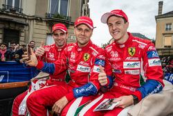 #51 AF Corse Ferrari 488 GTE: Алессандро П'єр Гуіді, Джанмарія Бруні, Джеймс Каладо