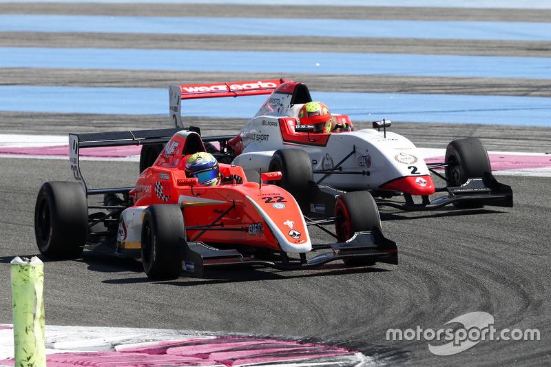 Harrison Scott, AVF by Adrian Valles, Lando Norris, Josef Kaufmann Racing