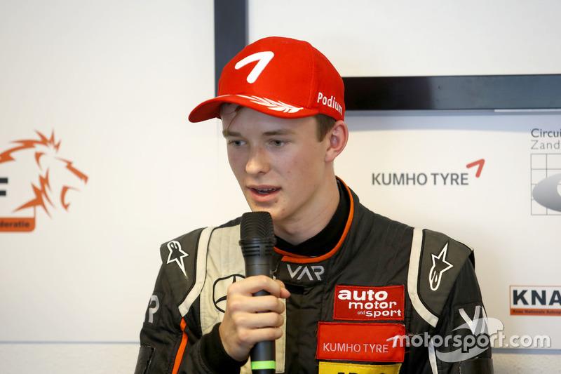 Conferenza stampa: Callum Ilott, Van Amersfoort Racing Dallara F312 - Mercedes