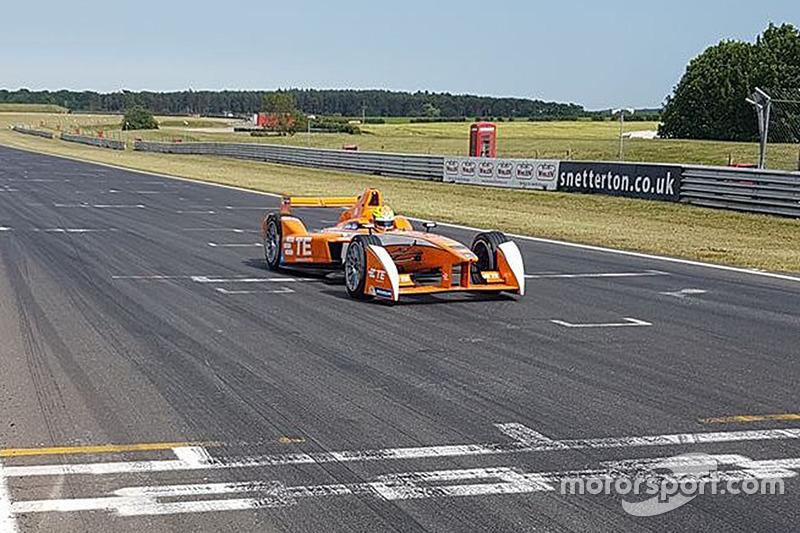 Andretti Autosport prueba el auto de Fórmula E para la tercera temporada