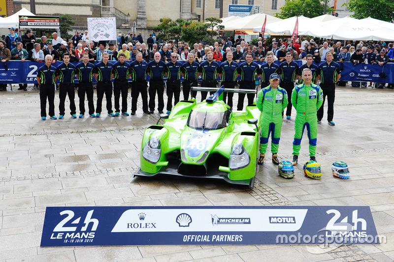 #40 Krohn Racing Ligier JS P2 Nissan: Трейсі Крон Нік Йонссон, Жоао Барбоза