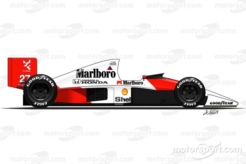 1990 - La McLaren MP4-5B