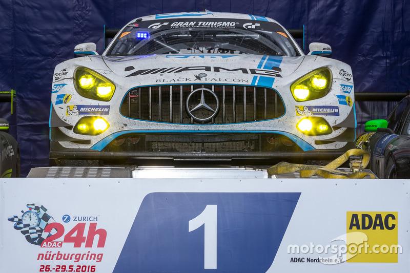 2016: Бернд Шнайдер, Маро Энгель, Адам Христодулу, Мануэль Метцгер – Mercedes-AMG GT3