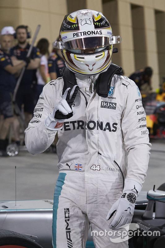 Derde, Lewis Hamilton, Mercedes AMG F1 Team