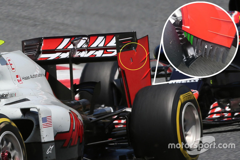 Haas F1 Team: Heckflügel