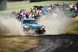 Historischer Rallye-Citroën