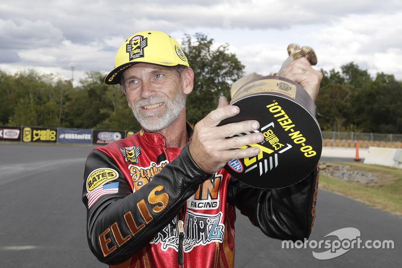 Pro Stock Bike winner Chip Ellis