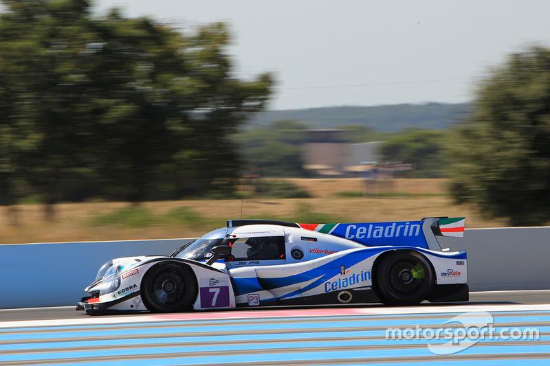 #7 Villorba Corse Ligier JSP3 - Nissan: Roberto Lacorte, Giorgio Sernagiotto
