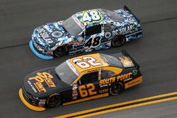 Brendan Gaughan, Richard Childress Racing Chevrolet, Brennan Poole, Chip Ganassi Racing Chevrolet