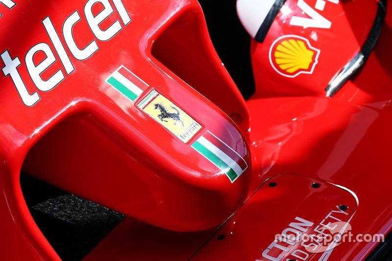 Ferrari SF16-H burnu