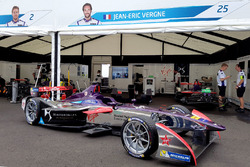 La monoposto di Jean-Eric Vergne, DS Virgin Racing