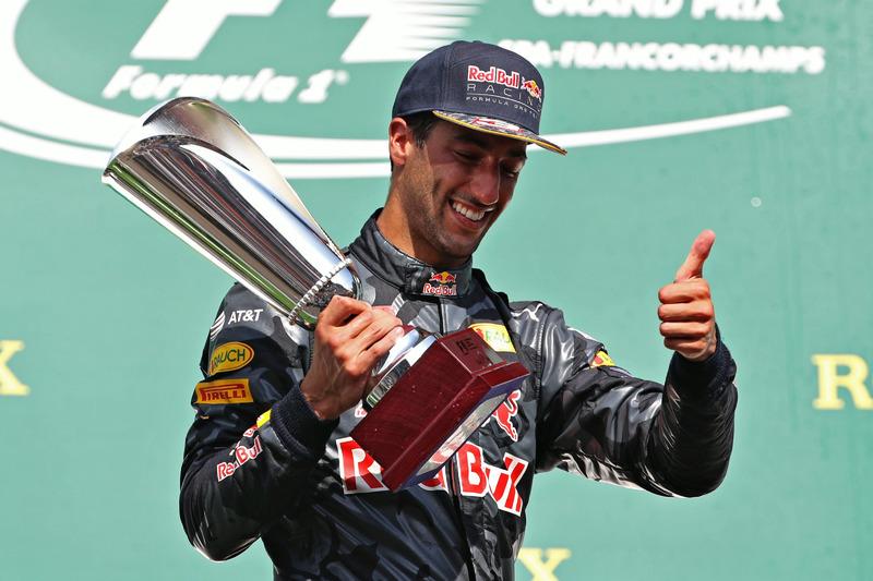 Podium: Daniel Ricciardo, Red Bull Racing