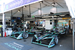 Jaguar Racing team area