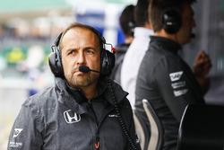 Технический директор McLaren Мэтт Моррис
