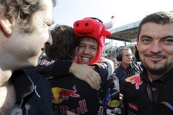 Ganador Sebastian Vettel, Red Bull Racing