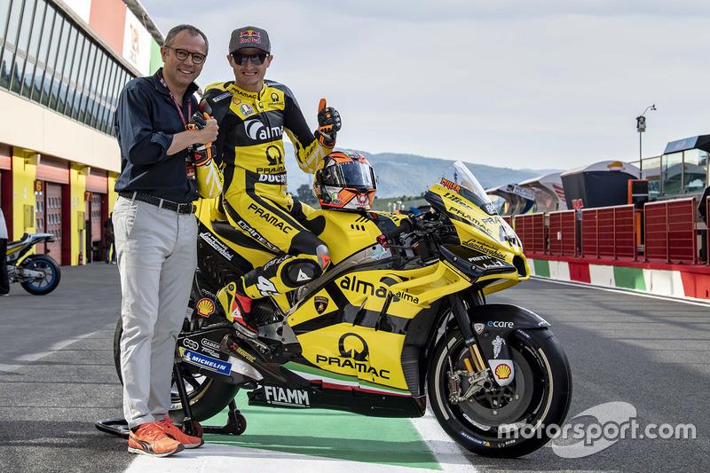 Jack Miller, Pramac Racing con la speciale livrea Lamborghini