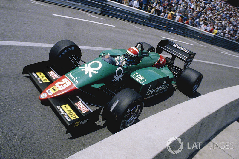 Eddie Cheever, Alfa Romeo 185T (1985)