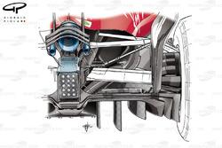 Ferrari SF70H: Diffusor, GP Abu Dhabi