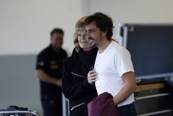 Fernando Alonso, United Autosports con fans
