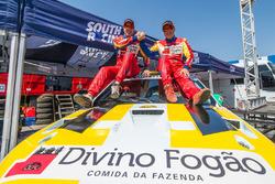 Reinaldo Varela e Gustavo Gugelmin