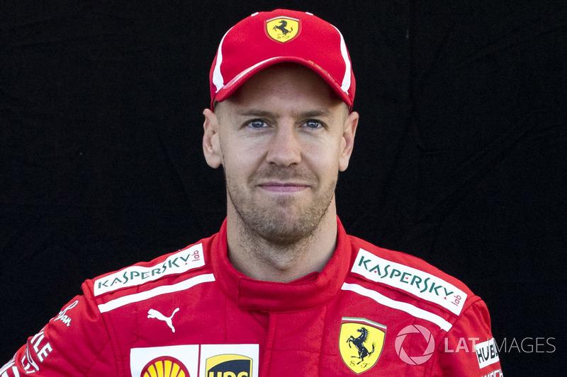#5 Sebastian Vettel, Ferrari (Sigue)