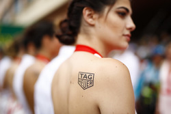 Tag Heuer promotional girls and models