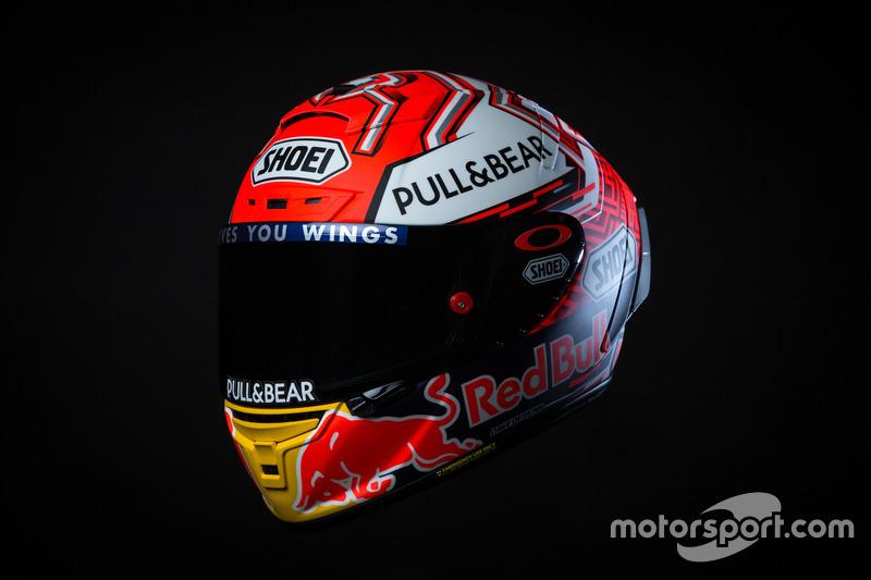 Marc Marquez, Repsol Honda Team nuevo diseño de casco 2018