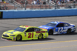 Paul Menard, Wood Brothers Racing, Ford Fusion Menards / Dutch Boy, Ricky Stenhouse Jr., Roush Fenway Racing, Ford Fusion Fastenal